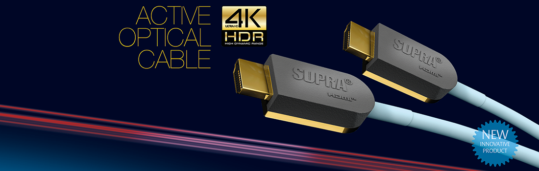 SUPRA Cables - Experience High Quality HDMI, DVI and HI-FI Cables